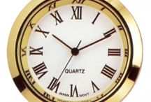 Clock Face Inserts - Fit Ups / Discover all the different sizes of clock face inserts and fitups.