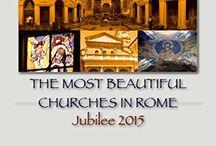 The most beautiful churches in Rome Jubilee  - Giubileo