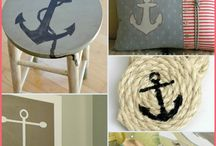 nautical decor cushion