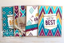 Bohemian Suite by Stampin' Up! / Projects using the Bohemian suite from Stampin' Up!
