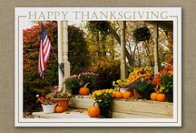 Thanksgiving / Nature's holiday! These Thanksgiving Cards designs really highlight the beauty of the season.