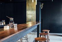 Барная стойка дизайн кафе