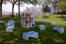 outdoor libraries
