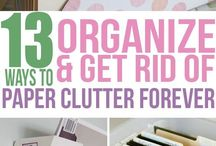 Organizing and Declutter