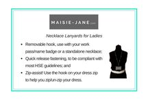 Work Style Inspiration / Inspire your Work Style and Fashion with a Maisie-Jane.com Necklace Lanyard! Inspiration can be found here!