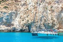Greece Travel / It's all Greek to Me! Come explore and sail around some beautiful islands this summer.