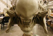 Sculpture - molds - plasticine