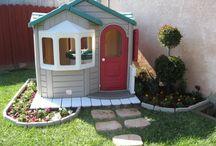 Backyard/Back porch / by Jena Smith