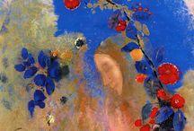 Pinturas do Odilon Redon