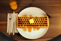 FTW: For the WAFFLES! / Because waffles are the best things in life.