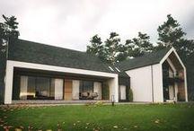 domy z dachem