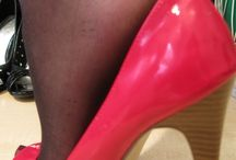 nylon heel / Nylon, pantyhose, Strumpfhosen, Strapse, strümpfe, stockings