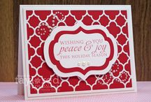 Stampin Up Christmas / by Carrie Cameron