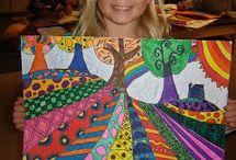 Kinderkunst/art with kids