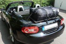 Mazda MX5 Gepäckträger : Der Gepäckträger hat sich weiterentwickelt / Die Alternative zu einem Gepäckträger für lhren Mazda MX 5.Hinzufügen von Wasserdicht 50 Liter Gepäckraum