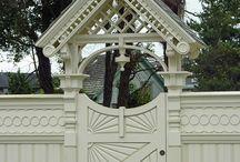 Beautiful gates / And doors