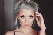 haarfarbe pastell grau