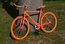 city bike BIGA / City bike in alluminio con doppio pignone per scatto fisso e scatto libero peso kg 11,50