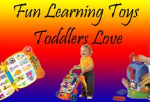 Learning Toys Toddlers Love / #Toddlers and #Toddlers Learning   Toddlers learn through play, these toys will provide a good platform for this.