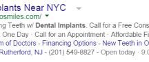 Awesome Dentist PPC Ads