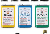 Olive Oil / Olive oil packaging design