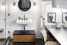 TODAY'S TILED BATHROOMS