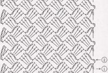 Gráficos de crochet/tricot e variados / by Celeste Panucci