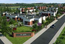 OSIEDLE M PARK, BYDGOSZCZ / m | park to ekskluzywne osiedle 56 domów w zabudowie bliźniaczej i szeregowej, mieszczące się w Osielsku.    To miejsce dla rodzin, które cenią sobie przestrzeń, spokój i bezpieczeństwo. Osiedle będzie w pełni monitorowane, ogrodzone, a dodatkowy komfort zapewnią oświetlone i utwardzone kostką brukową uliczki.