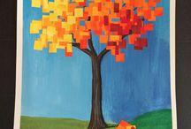 syksyinen puu