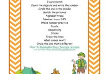 Camp Kindness camping fun / by Katina Maniscalco-Smith