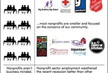 Nonprofit Infographics / Infographics related to nonprofits, philanthropy and fundraising.
