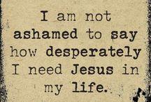 Jesus my Lord and Saviour