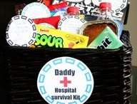 Daddy Hospital survival kit / by Ashley Coleman