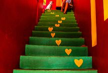 Crazy Colour Stairs