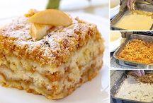 Sypaný koláč s jablky