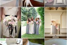Pink & Grey Wedding