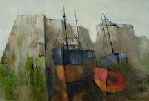 Michael Praed paintings / paintings by Michael Praed, contemporary artist from Cornwall