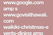 Mele Kalikimaka / Christmas in Hawaii