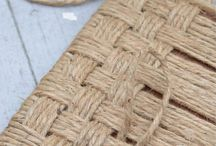 uzly a pletení z provazu