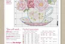 Cup and Porcelain crossstitch