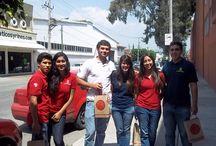 Los chavos de la escuela de San Miguel de Allende: El Instituto Sanmiguelense / Estudiantes de Preparatoria y Universidad de San Miguel de Allende, Guanajuato.