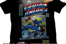 Футболки Captain America