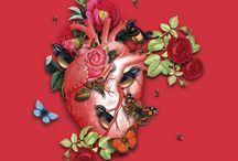 My Art / Digital Collages by Silvana Mattievich
