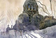 świątynie / by Zofia Jaworowska