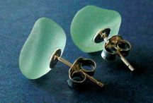 Beach Glass Crafts