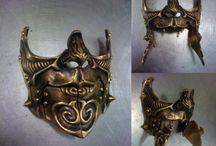 Steampunk Masks | steampunkdistrict.com / by SteampunkDistrict.com }