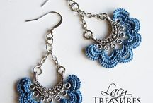 Attractive Earrings. / For Glamours Look Choose #Trendy #Earnings from a Collection of #Lace #Jewellery. On Return Favor.  http://www.returnfavors.com/earrings/