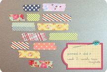 SU - Washi Tape & Tape It Stamp Set