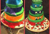 Ninja turtle cake ideas