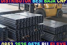 Besi Cnp 125 0853.2525.9575 / Besi Cnp 125 0853.2525.9575 Distributor besi baja CNP Surabaya, men jual besi baja CNP juga UNP, WF, H Beam, Pipa Gas, Pipa Kotak, Besi Beton, Plat